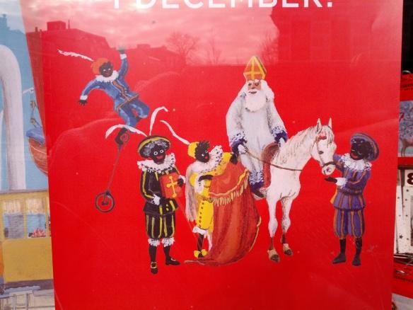 Dutch Santa and his helpers