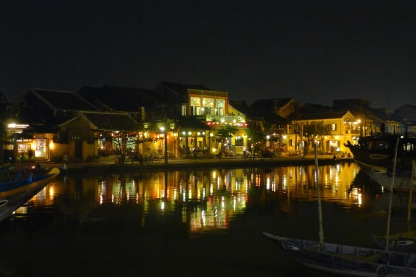 We largely avoided Hoi An by day and enjoyed its charms by nightfall, when the shopping/tailoring frenzy subsided