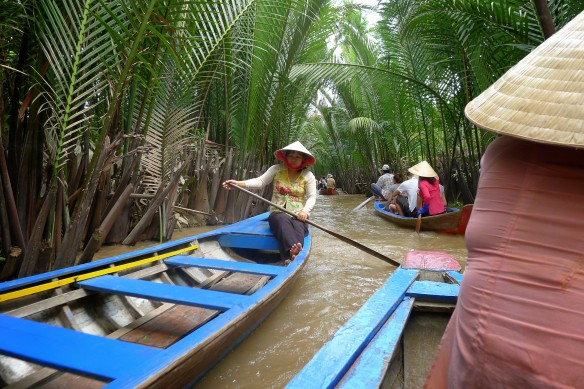 It all started with a ride up and down the inner canals of the Delta, a sampling of the locals' daily commute