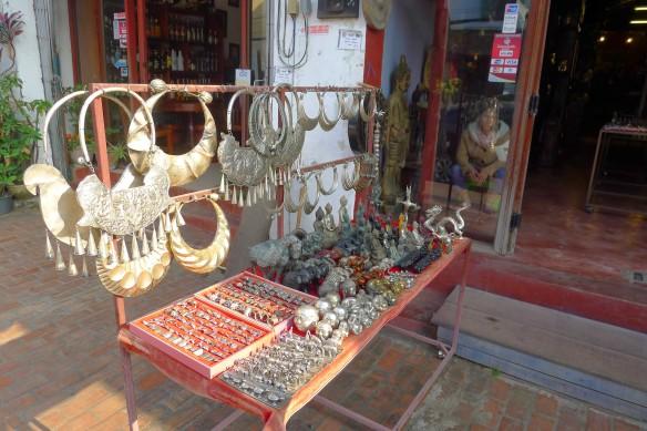 Gorgeous silver jewelry and handicrafts everywhere on display. The Hmong tribe in particular really have a way with metal.