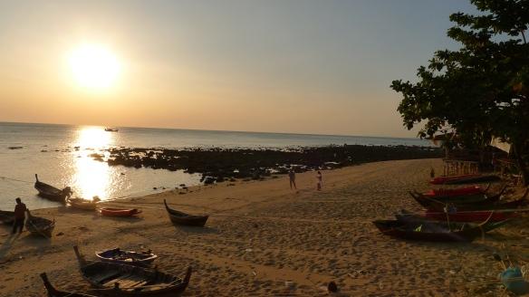 Sunset in South Koh Lanta