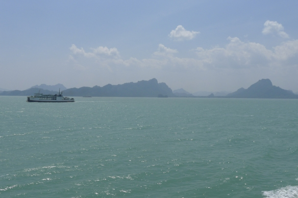 The train ride was followed by two ferry trips on exquisitely beautiful turquoise waters