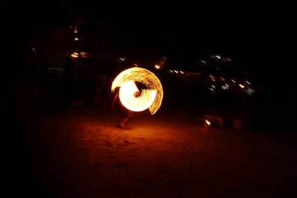 ... of wild fireshows (take that, Koh Phan Gan!) ...