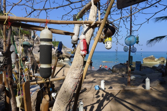 ... of quirky beachside cafes...