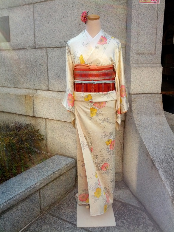 More kimonos, just because. Think g-string and cringe!